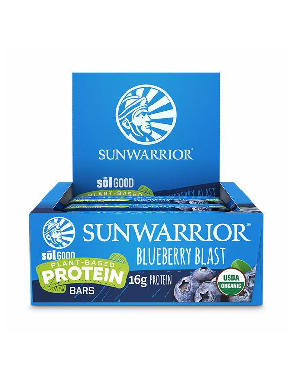 Sunwarrior - SolGood Protein Riegel vegan (12 Riegel)