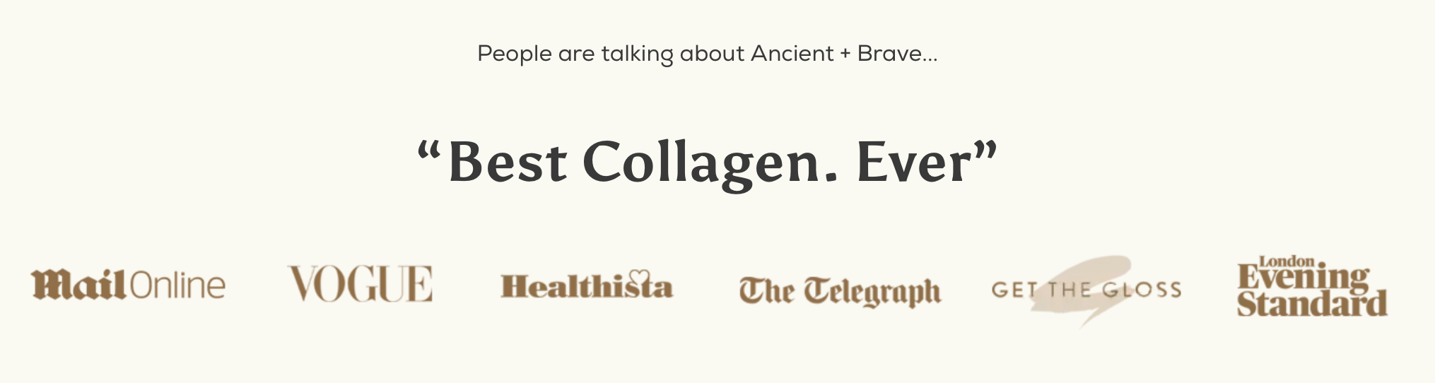 ancient+brave best collagen ever
